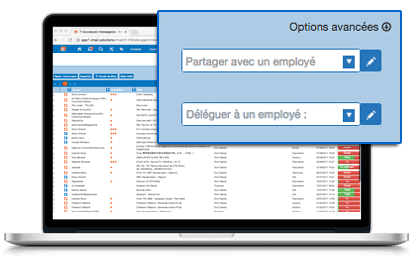 solution de service et support client par mail